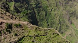 Trail Drone Shot
